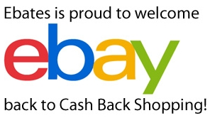 Ebay Cash Back at Ebates