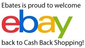 Ebay Cash Back at Ebates