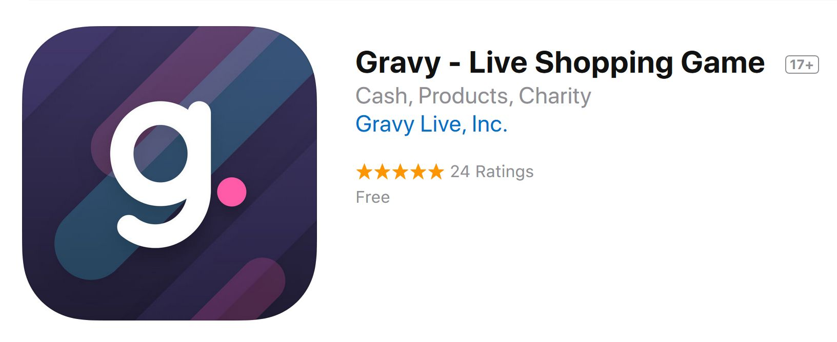 Gravy Live Shopping Game Reverse Auction and Game App Review